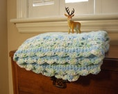 Bluegreen Delight Baby Blanket
