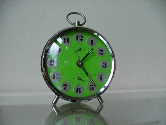 vintage dutch alarm clock