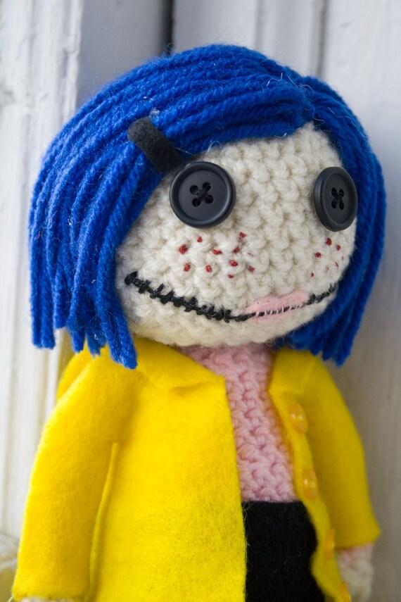 Amigurumi Coraline Doll
