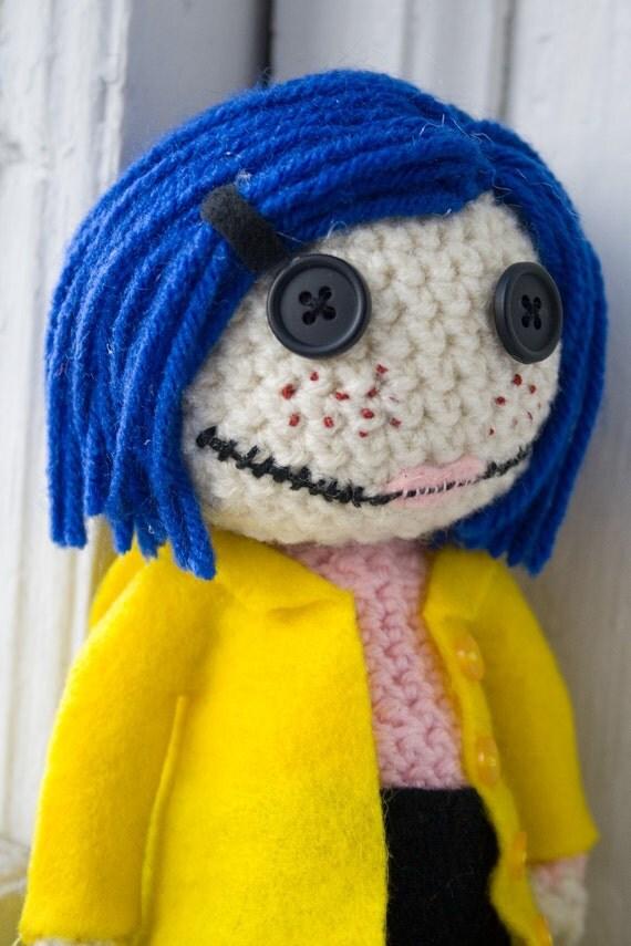 Amigurumi Wybie Doll : Amigurumi Coraline Doll