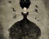 La Sorcière Noire 32/50 (second edition) - Deluxe Edition Print