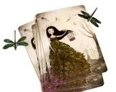 L'Envol des Libellules - Postcard