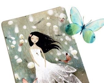 Blue Field Memories - Postcard