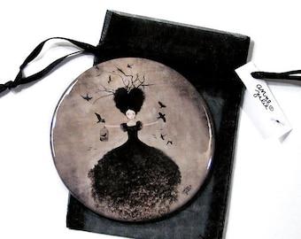 La Sorcière Noire - Pocket Mirror