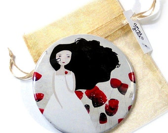 Poppies (Les Coquelicots) - Pocket Mirror