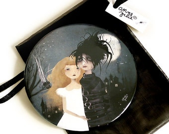 Edward Scissorhands - Pocket Mirror