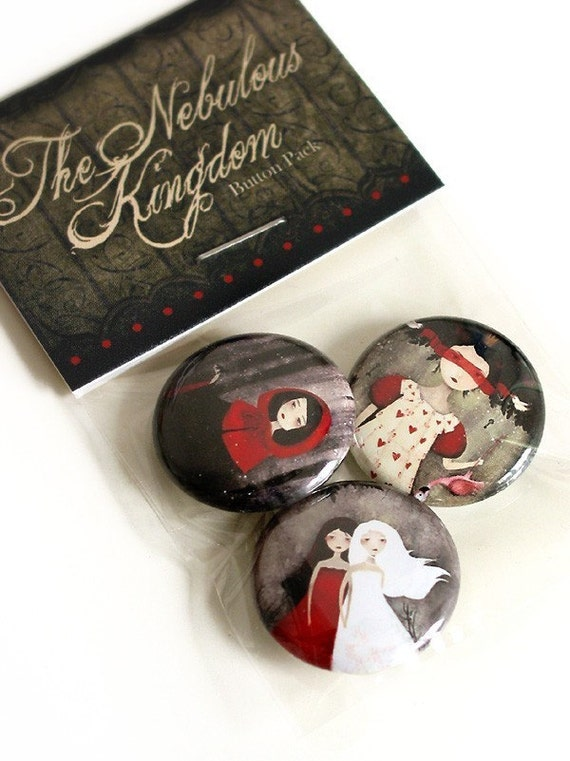 Fairytales Button pack