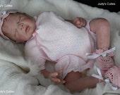 Tamie Yarie Derrick, now reborn baby Jamie, sweet sleeping baby girl,preemie