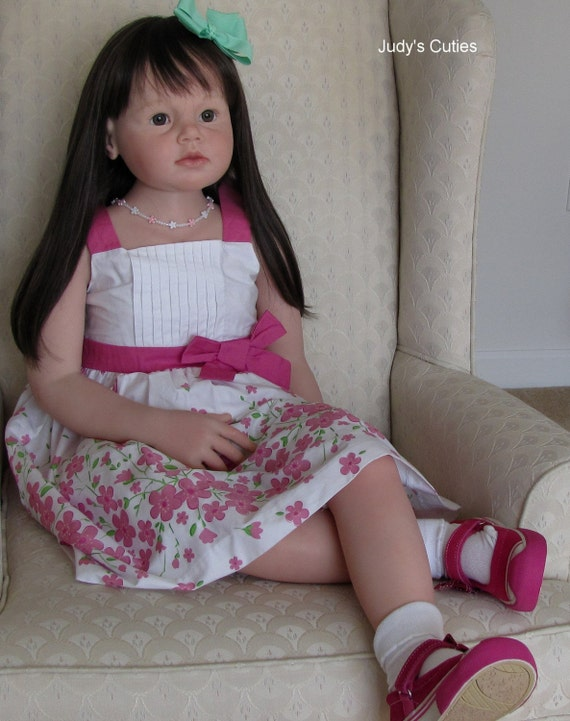 Reborn Reva Schick Angelica Size Of Five Year Old Child