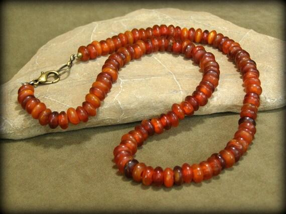 Mens Necklace - Beaded Necklace - Native Necklace - Unisex Necklace - Southwest Jewlery