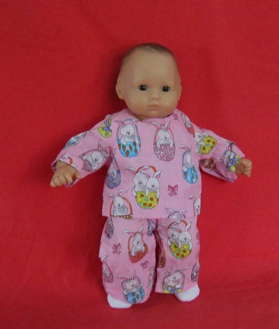 Easter Pajamas For American Girl Bitty Baby Doll By