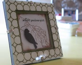 Framed Bird Picture