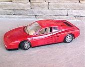 Vintage Bburago Ferrari Testa Rossa 1984 Diecast Model Italy