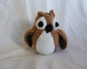 Knitted Owl Amigurumi