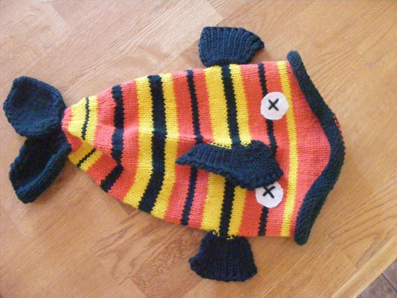 Knitted Fish Hat