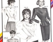 Ladies Victorian Blouse Pattern Stretch and Sew 353