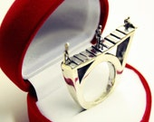 Staircase to Heaven Ring (sterling silver)