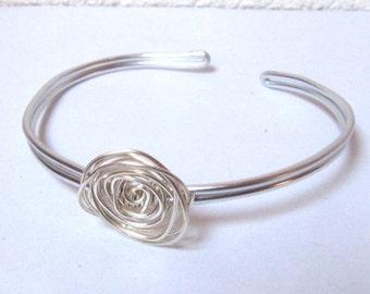 Bracelet  Rose Bright Sterlin Silver