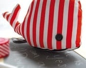 Dorotea the whale - Soft toy - Babies and kids - Artisan quality made in Italy