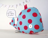 Palmira the whale - Handmade in Italy