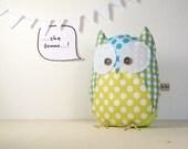 Oliviero the owl - Handmade in Italy