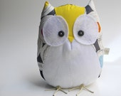 Pasquale the owl - Handmade in Italy