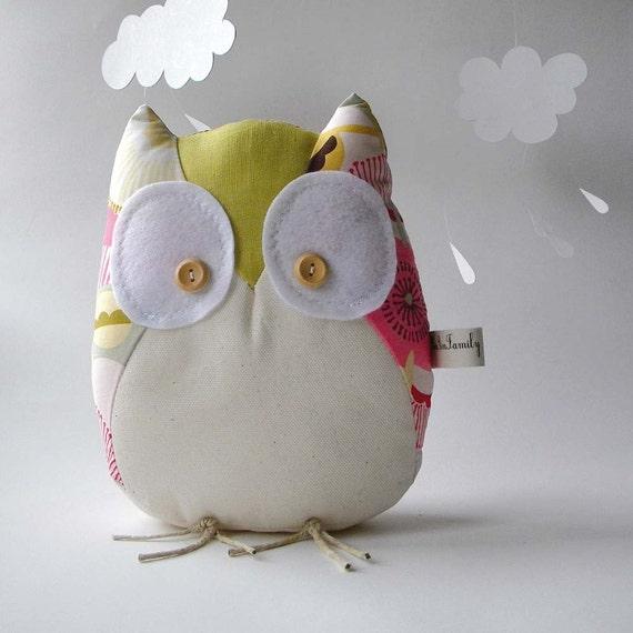 Alice the owl - Handmade in Italy