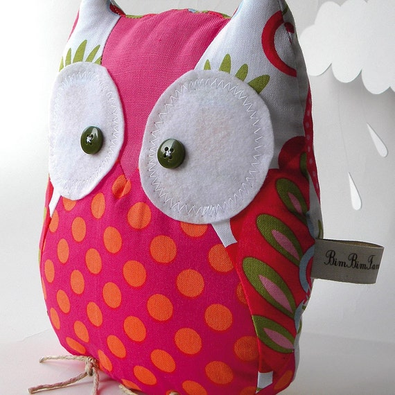 Ornella the owl - LIMITED EDITION - Handmade in Italy