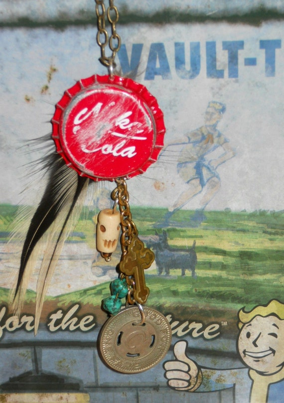 The Fallout Nuka-Cola Necklace - Artifacts from the Wasteland