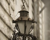 New orleans photography - Lantern of Hope New Orleans, French Quarter in New Orleans, Sepia photography
