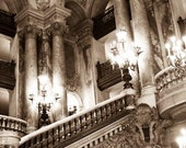Paris Photography - Paris Opera House - Paris, France, Paris Architecture, Sepia Toned, Opera Garnier, french home decor - Paris Decor