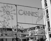Welcome to the Cannes Film Festival, France 8x10 Photograph - French Decor