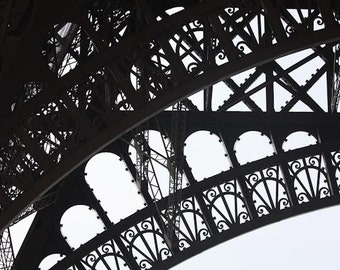 Best Sellers, Black and White Photography, Eiffel Tower in Paris, France, Architecture, Paris Decor, French Wall Art, Paris Photo