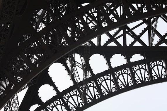 Black and White Photography, Paris Photography, Eiffel Tower, Paris, France, Architecture, Paris Home Decor, Paris Print,Eiffel Tower Photo