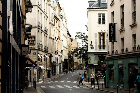 paris photography walking the paris streets rue jacob in st. Black Bedroom Furniture Sets. Home Design Ideas