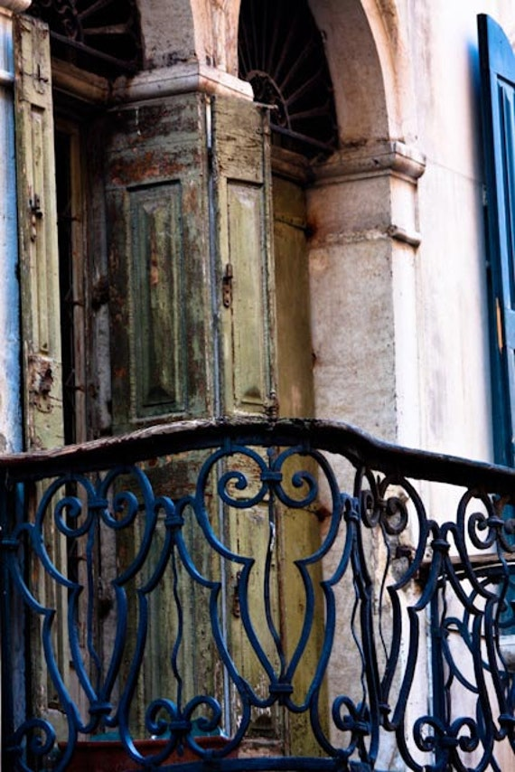 Romantic balcony in venice italy photography venice aged for Balcony in italian