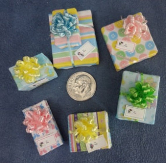 Six Assorted Mini Gift Packages for Baby set 26