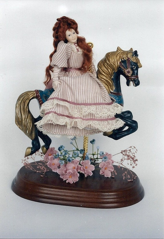 Clearance Item - One Inch Scale Porcelain Doll Kit - Sandra