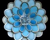 SALE ITEM Petal Drop Enamelled Necklace WAS 590 Now 290