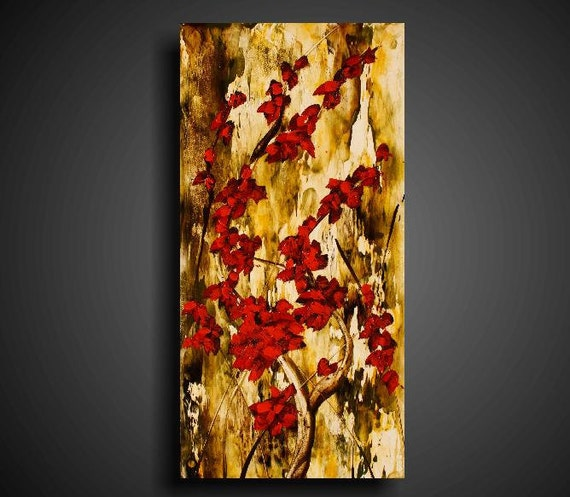 Encaustic Painting 25% OFF Large Painting. Asian Painting. Abstract Painting. Original Painting.