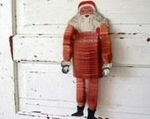 Vintage Beistle Honeycomb Dancing Santa