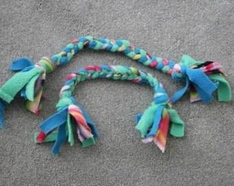 Dog Braided Fleece Tug Dog Toy