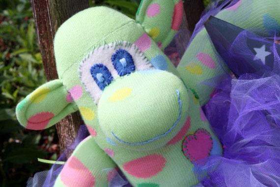 Tiffany The Sock Monkey Ballerina
