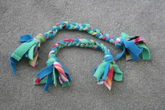 Braided Fleece Dog Toy