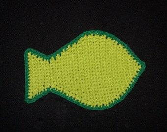 Cute fish washcloth