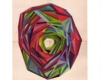 archival art print, RAINBOW  13 x 19