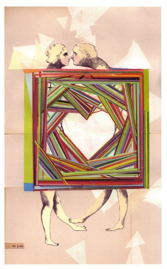 archival art print, Two Lovers