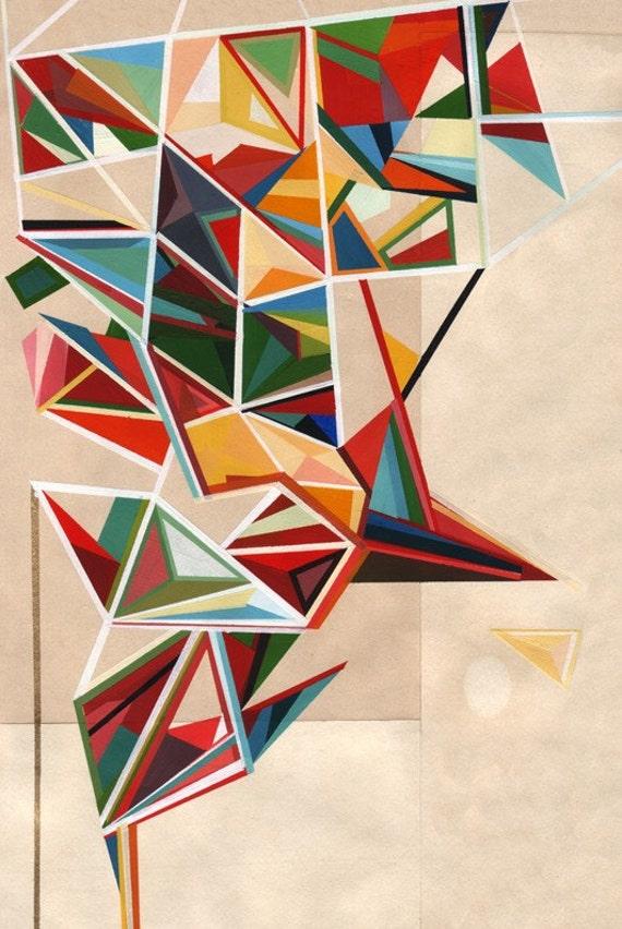archival art print, elements 2