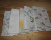 Vintage Sheet Very Fat Quarters Pack of 5-Floral