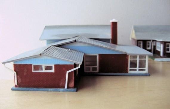split level ranch model home kit ho scale gallery for gt dark brown house exterior